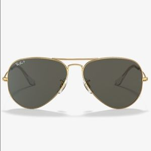 RAY-BAN RB3025 AVIATOR CLASSIC Gold Sunglasses